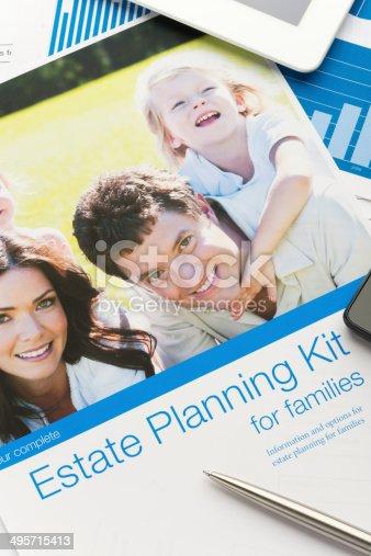 584597964istockphoto Family Estate planning document 495715413