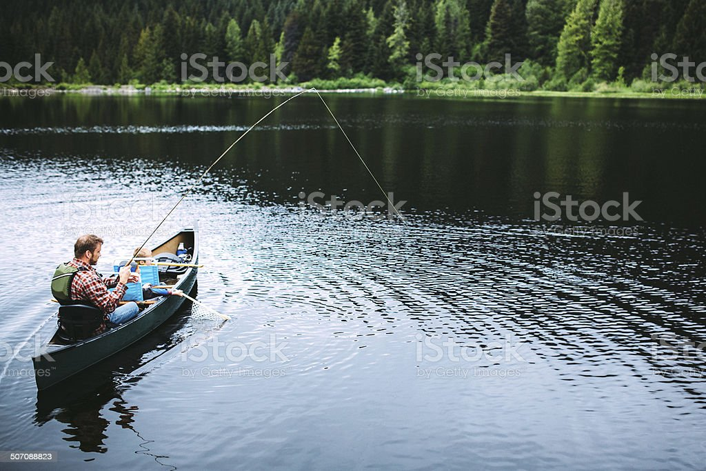 Family Fishing Trip stock photo
