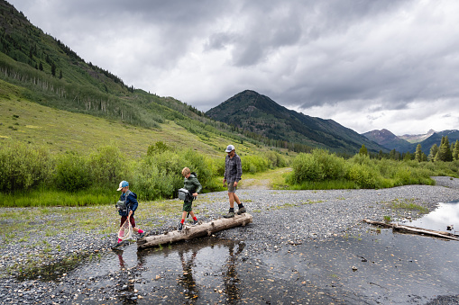 Family Fly Fishing Adventure high in the mountains of Crested Butte, Colorado.