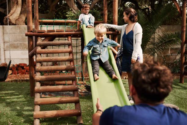 Familienspaß im Park – Foto