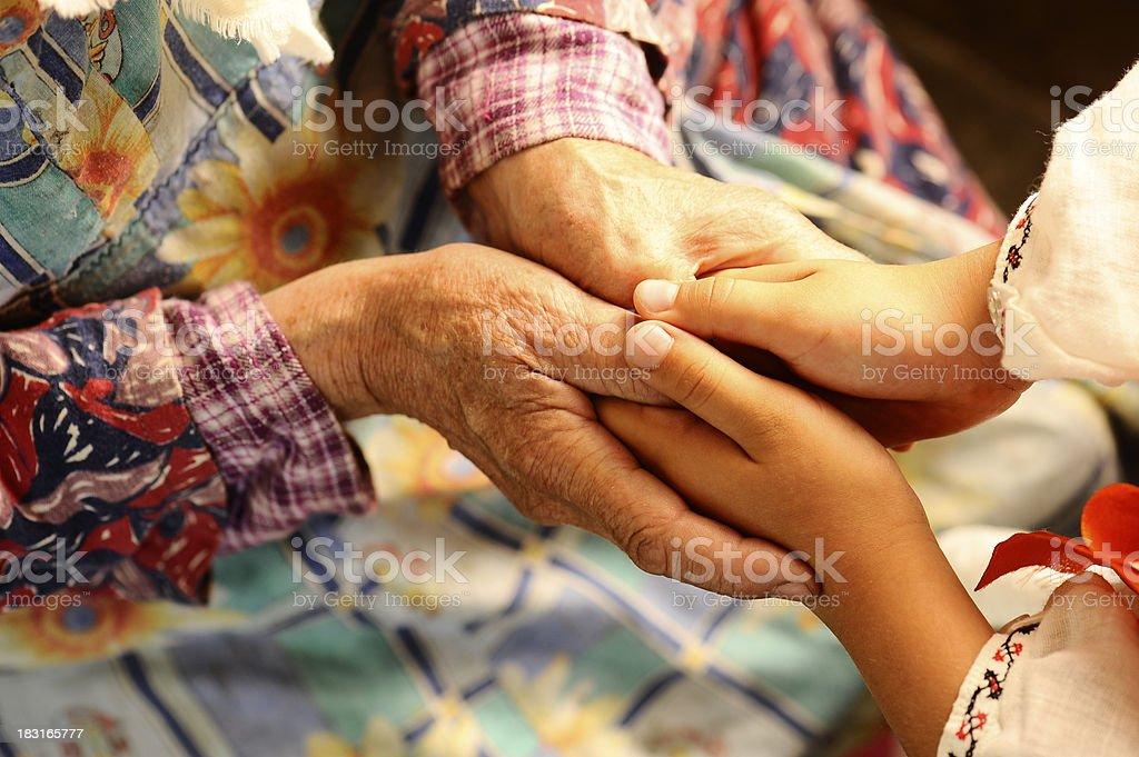 Familie Hände – Foto
