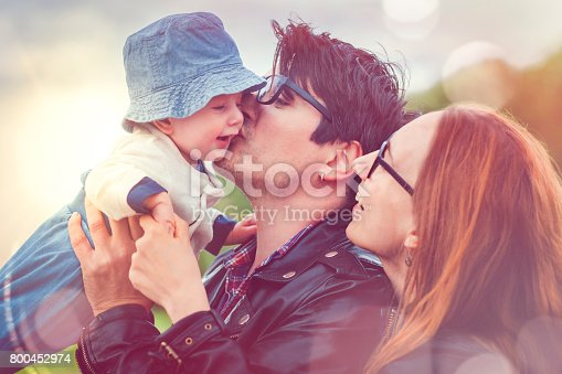 istock Family happy together 800452974