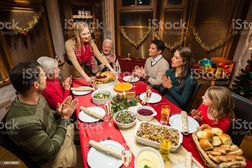 Christmas family dinner witha a twist 4