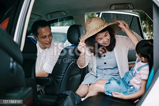 829619540 istock photo Family Having Fun in the Car Ready to Travel 1211553101