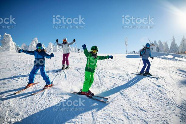 Family having fun skiing together on winter day picture id1125452768?b=1&k=6&m=1125452768&s=612x612&h=m0g2rvsdlnt7kztfetco 2oz6zmpena y 82ah5tuvc=