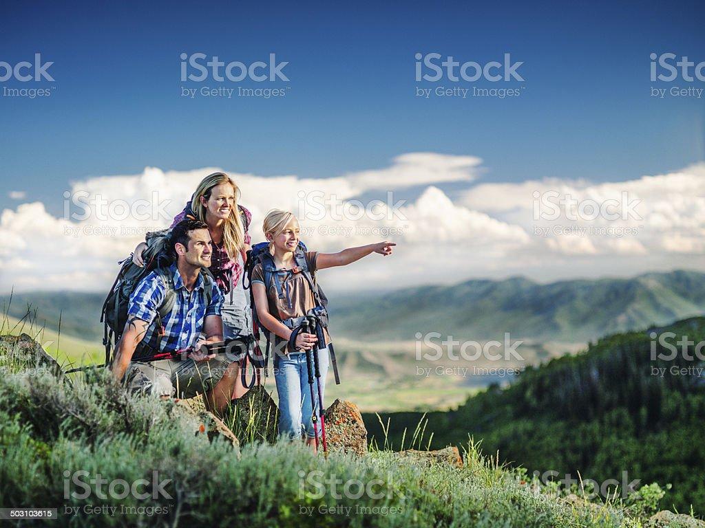 Familie Wandern – Foto