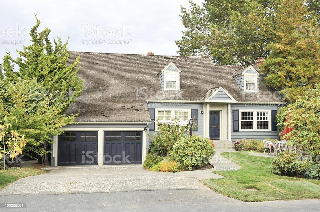 Familie Haus mit schöner Landschaft – Foto