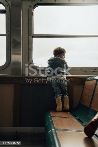 istock Family in a Ferry in New York city 1175863758