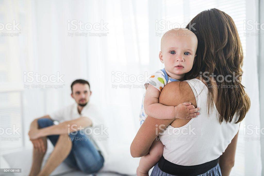 Familie in Konflikt – Foto