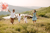 istock Family in nature 1167931508