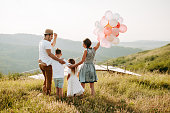 istock Family in nature 1167931774