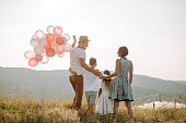 istock Family in nature 1168142473