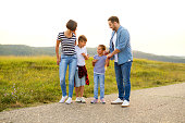 istock Family in nature 1168142484