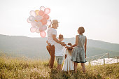 istock Family in nature 1168142642