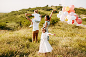 istock Family in nature 1168142924