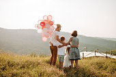 istock Family in nature 1168142985