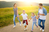 istock Family in nature 1168142997