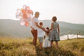 istock Family in nature 1168143019