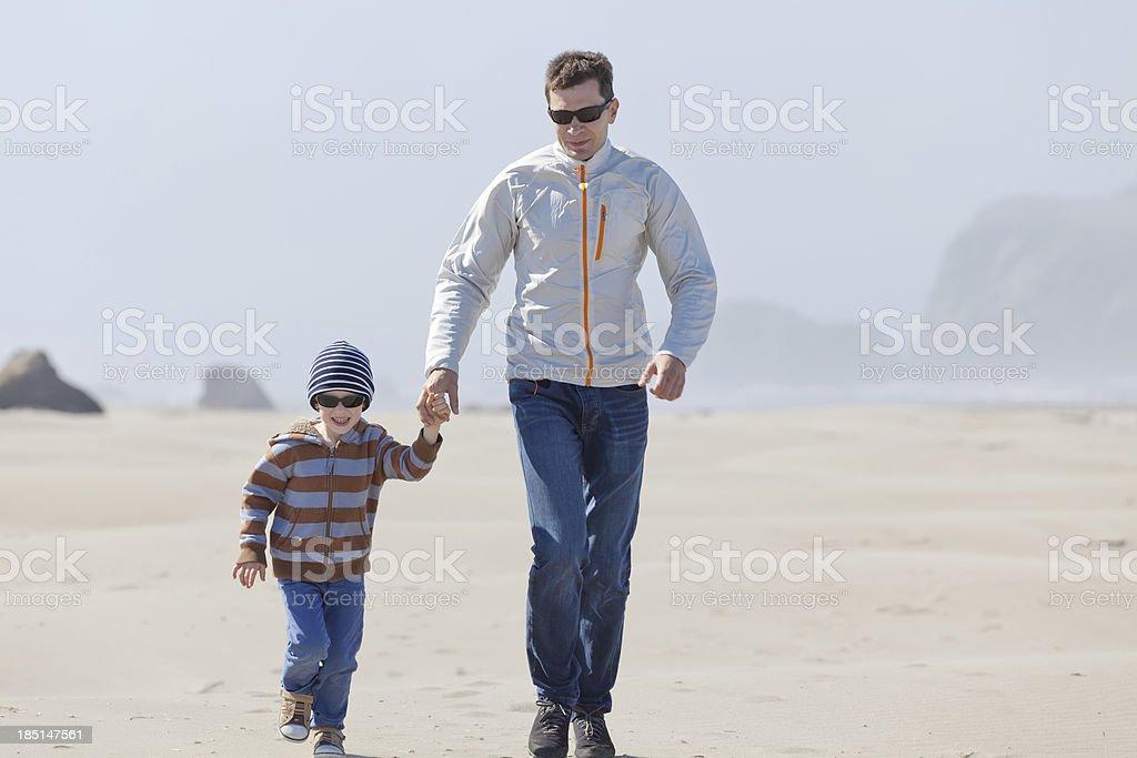 family in oregon stock photo