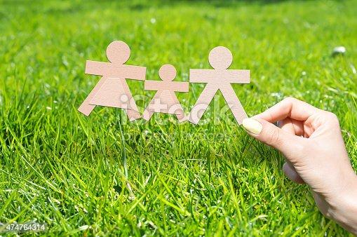 929887844 istock photo Family insurance concept 474764314