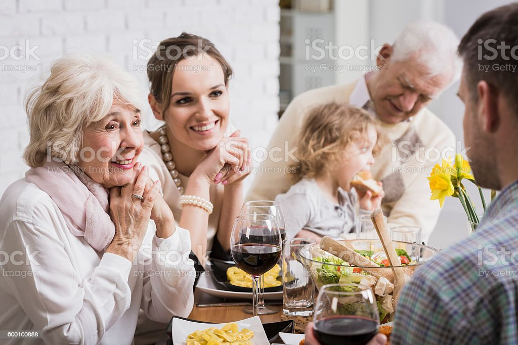 Family is all we have... stock photo