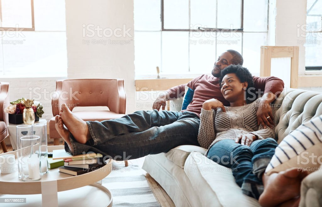 Family is what happens when two people fall in love stock photo
