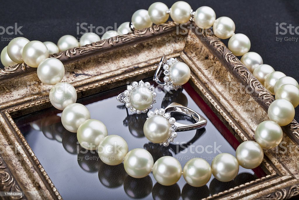 family jewels stock photo