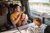 Family journey by train