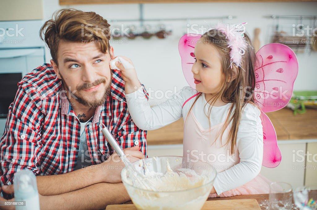 Familie Küche und Spaß! – Foto