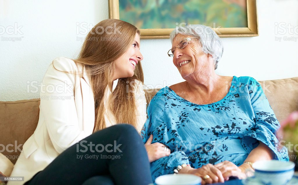Family laughter stock photo