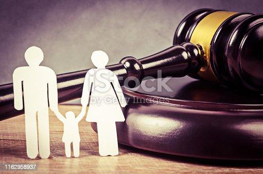 istock Family law concept 1162958937