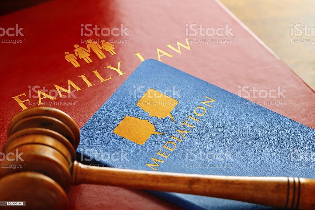 Family Law Mediation stock photo