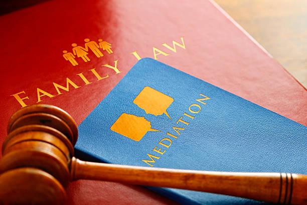 Derecho de la familia mediación - foto de stock