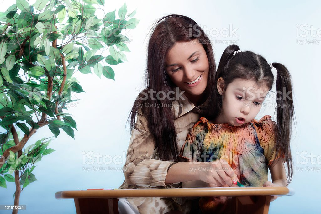 Family life stock photo
