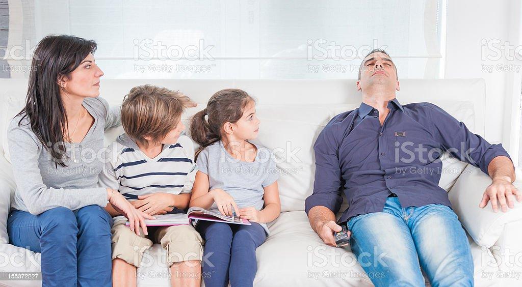 Family life royalty-free stock photo