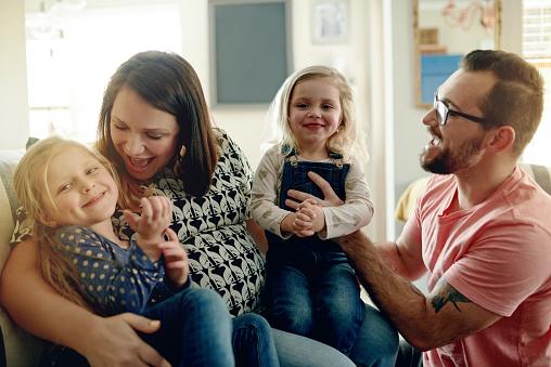 가족행복 하 게 인생의 가장 아름 다운 이유 가정 생활에 대한 스톡 사진 및 기타 이미지