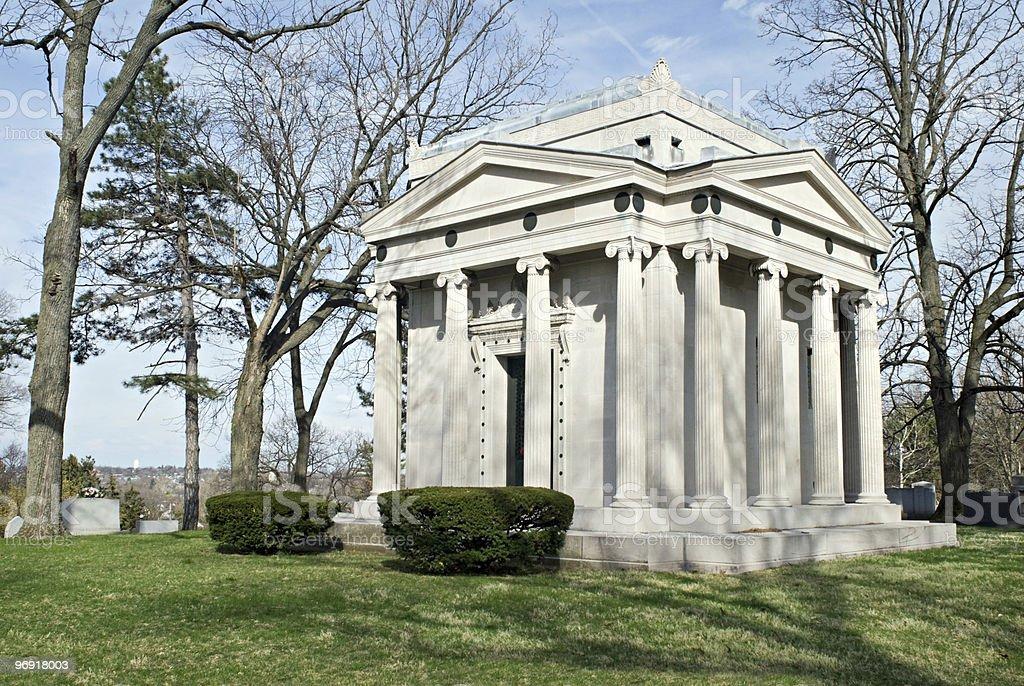 Family Mausoleum stock photo