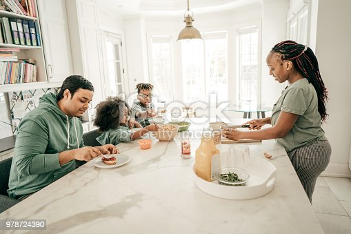 istock Family meal time 978724390