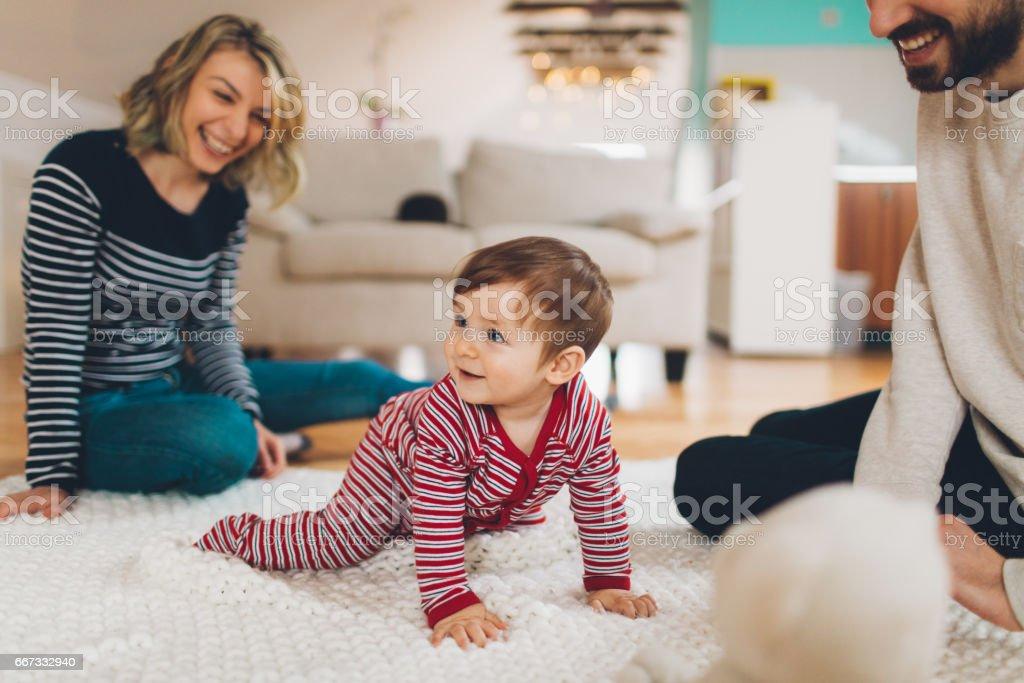Family moments - Lizenzfrei Baby Stock-Foto