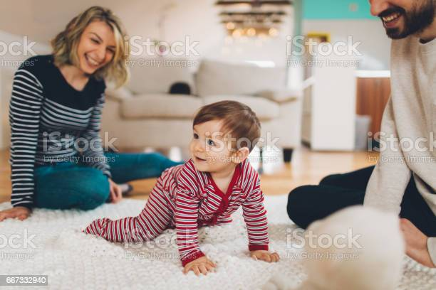 Family Moments Stockfoto und mehr Bilder von Baby
