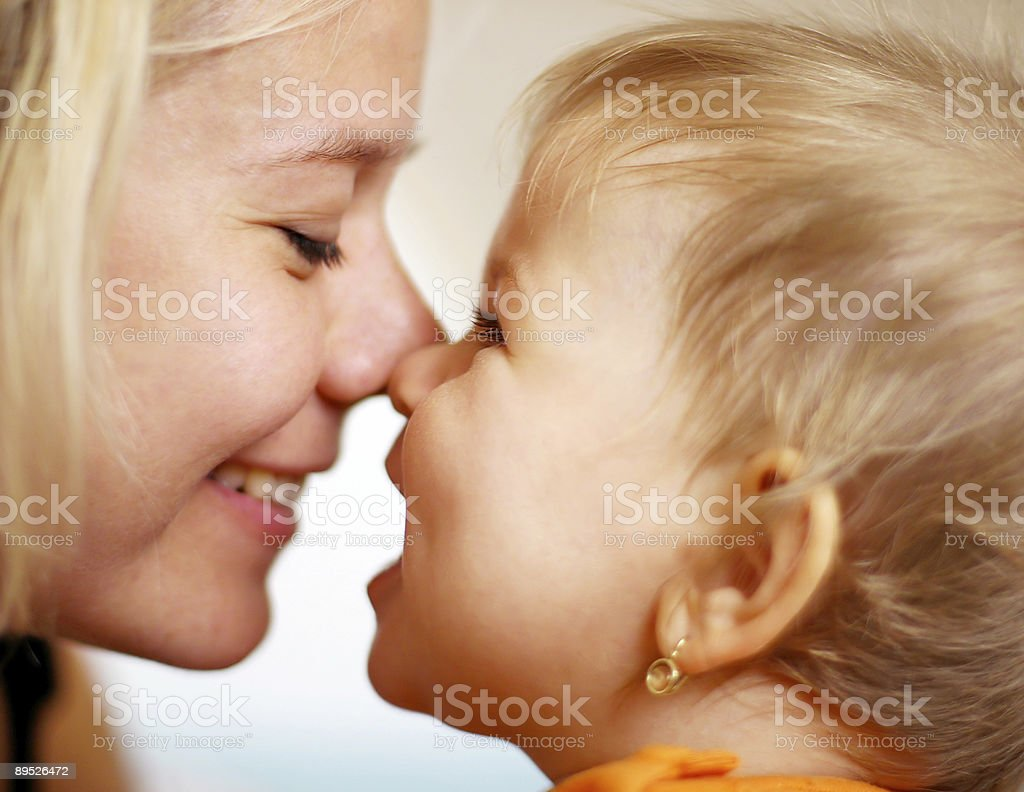 Family moments 免版稅 stock photo