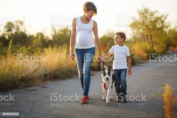 Family mother and son are walking with a dog picture id908959540?b=1&k=6&m=908959540&s=612x612&h=5h0anv695hajzbez4wdvpdquq13cv8eqxeepgwjn99i=