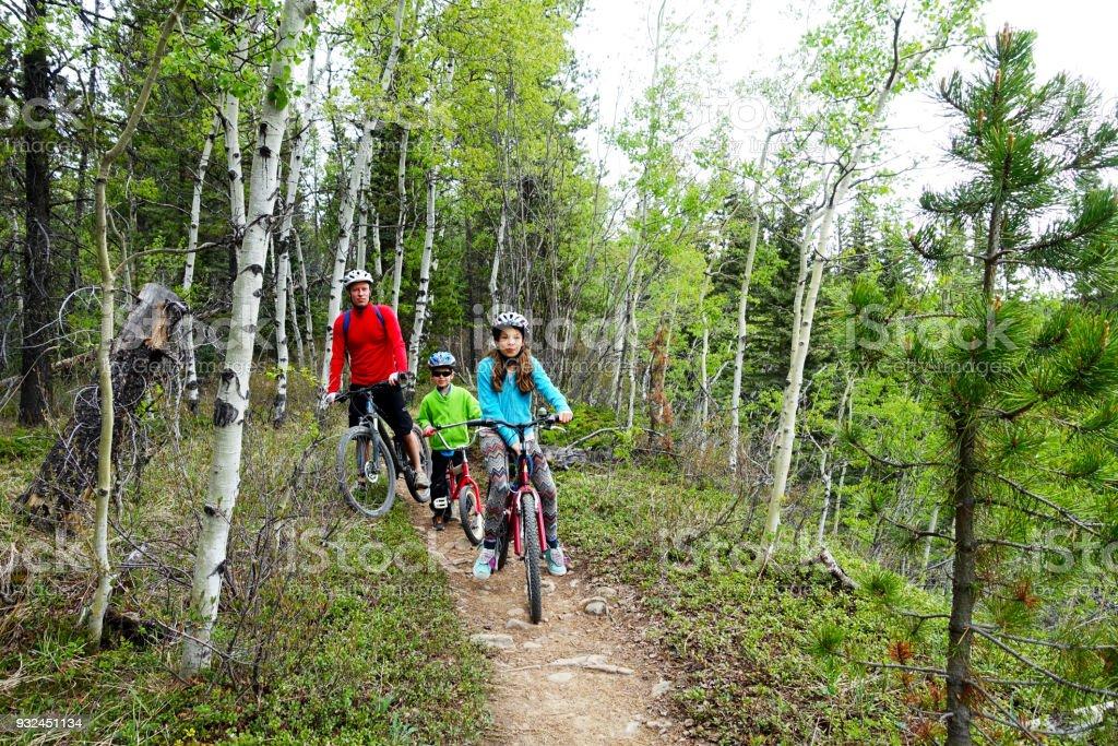 Familie Mountain Bike Tour – Foto