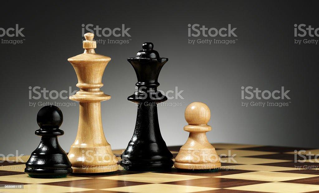 family of chess royalty-free stock photo
