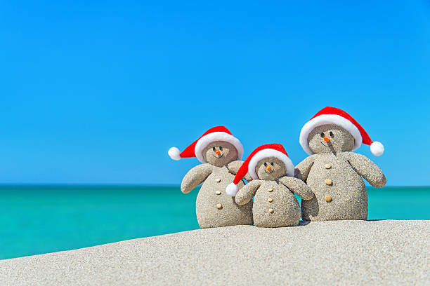 royalty free beach christmas pictures images and stock photos istock