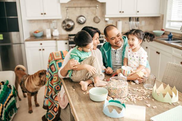 Famille de quatre personnes - Photo