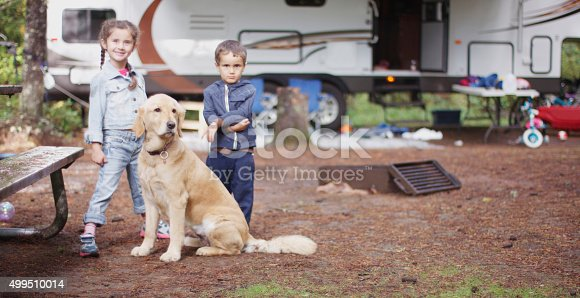 istock Family on a Camping Trip 499510014