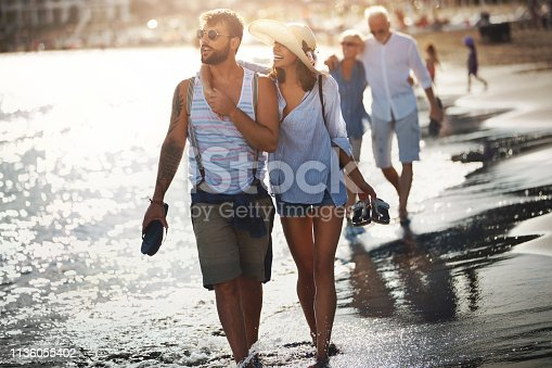 istock Family on a vacation. 1136055402