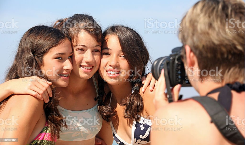 ご家族でのバケーション - カメラのロイヤリティフリーストックフォト