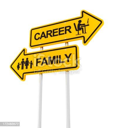 182362845 istock photo Family or career 172483572